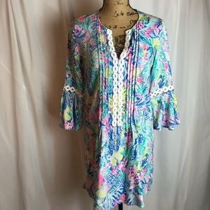 Lilly Pulitzer Mermaids Cove Hollie Tunic Dress
